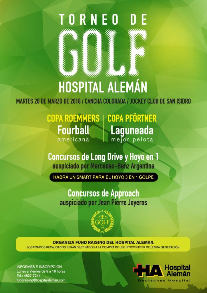 Torneo De Golf 2018 Hospital Alem N